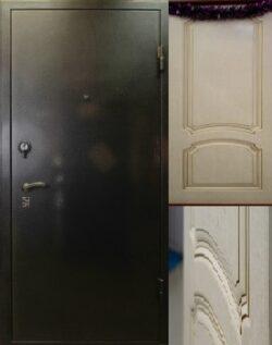 дверь с чиза и со шпоном